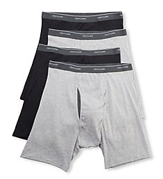 Fruit Of The Loom Coolzone Extended Size Boxer Briefs - 4 Pack 4BL7XTG