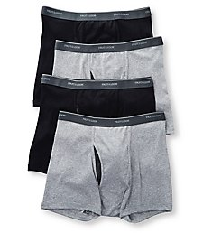 Fruit Of The Loom Coolzone Extended Size Short Boxer Briefs - 4 Pack 4SBL76X
