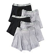 Fruit Of The Loom 100% Cotton Short Leg Boxer Briefs - 5 Pack 5SL7601