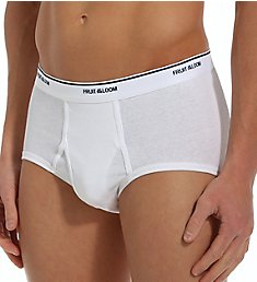 Fruit Of The Loom Big Man's 100% Cotton Full Cut Briefs - 3 Pack 7690BM