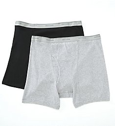 Fruit Of The Loom Big Man's Cotton Boxer Briefs - 2 Pack EL76XBM