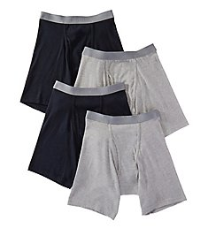 Fruit Of The Loom Premium Cotton Boxer Briefs - 4 Pack JC4BB76