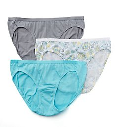 Hanes Cotton Bikini Panties - 3 Pack D42L