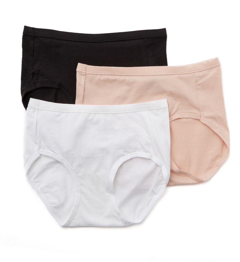 Hanes Comfort Soft Cotton Stretch Low-Rise Panty - 3 PK ET39