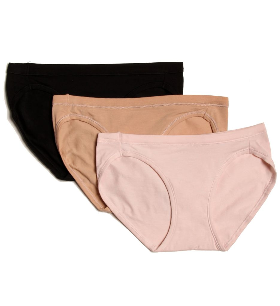 Hanes ComfortSoft Cotton Stretch Bikini Panty - 3 Pack ET42