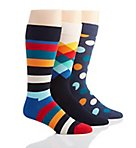 Happy Socks Classic Mix Socks - 3 Pack Gift Set XMIX08
