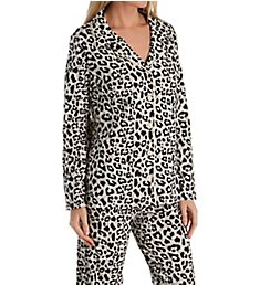 honeydew Notch Collar Pajama Set 574979