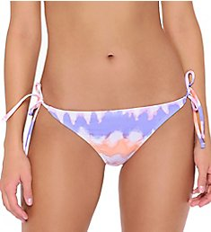 Hot Water Precious Illusion Tie Side Brief Swim Bottom 24PL0149