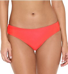 Hot Water Solid Back Shirred Hipster Swim Bottom 24ZZ1049