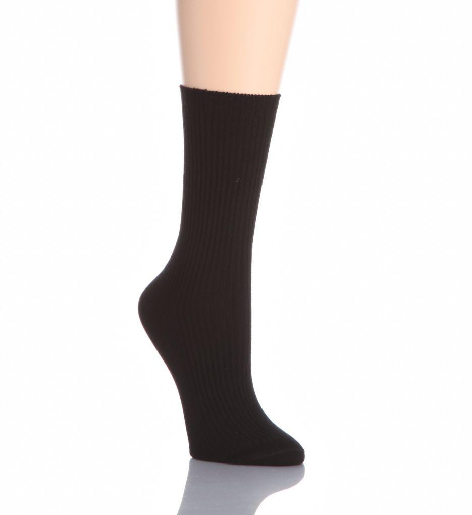 Hue Classic Rib Sock 10732