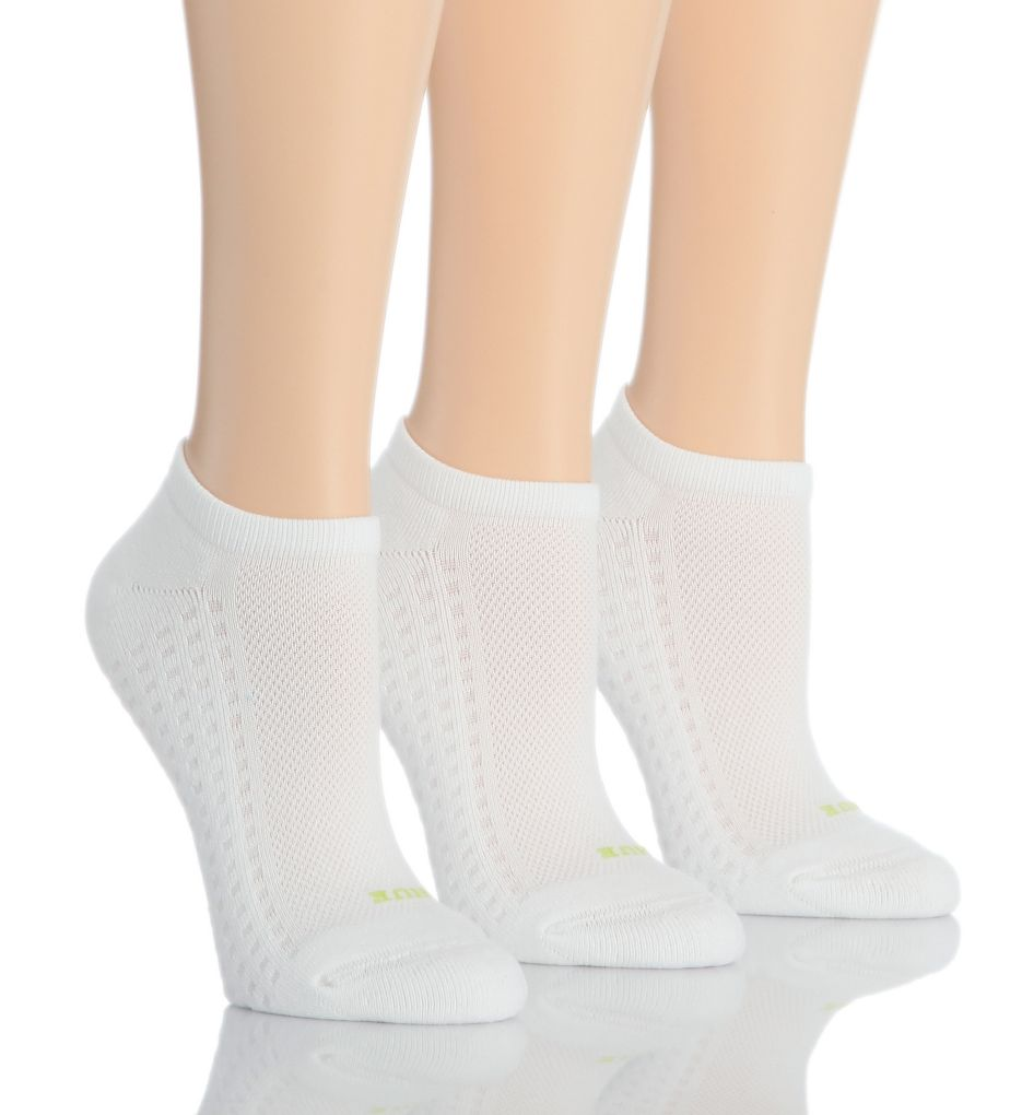 Hue Air Cushion No Show Sport Sock - 3 Pair Pack 12798
