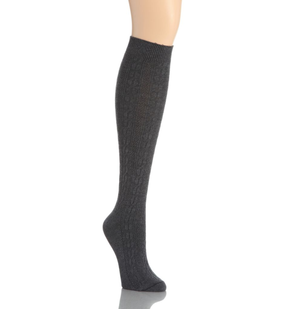 Hue Cable Knee Sock 14674