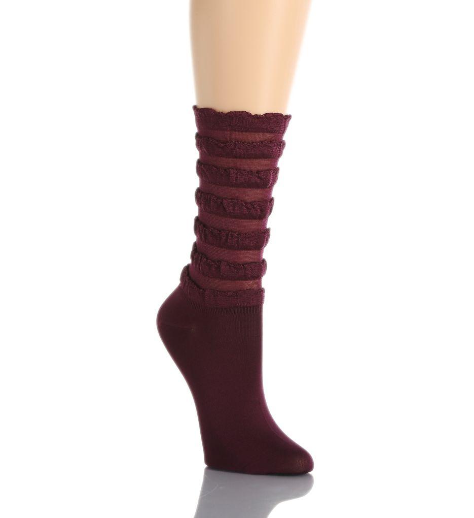 Hue Tiered Ruffled Sock 16145