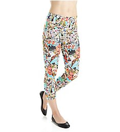 Hue Hey Sailor Twill Capri 17524