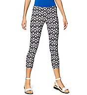 Hue Fashion Cotton Ikat Capri Leggings 17951