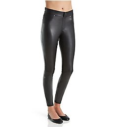 Hue Curvy Leatherette Leggings 17998