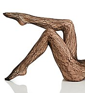 Hue Floral Lace Net Tights 18266