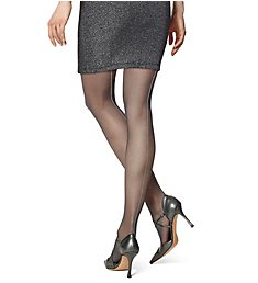 Hue Metallic Backseam Tights 18318