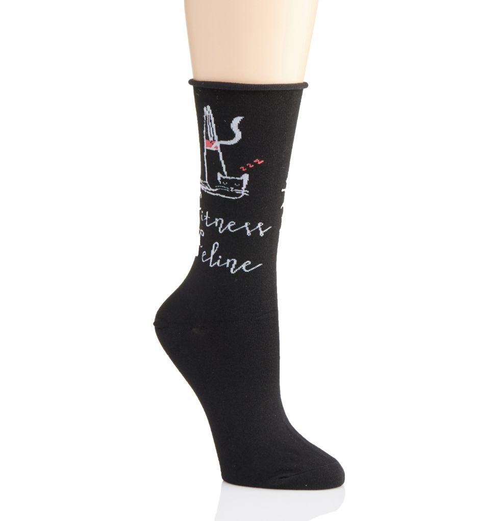Hue Conversationals Roll Top Sock 18498