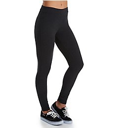 Hue Wide Waistband Blackout Cotton Leggings 20481