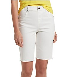 Hue Ultra Soft Denim High Waist Bermuda Shorts 21472