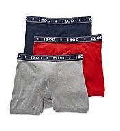 Izod Men's Knit Boxer Briefs - 3 Pack 171PB11
