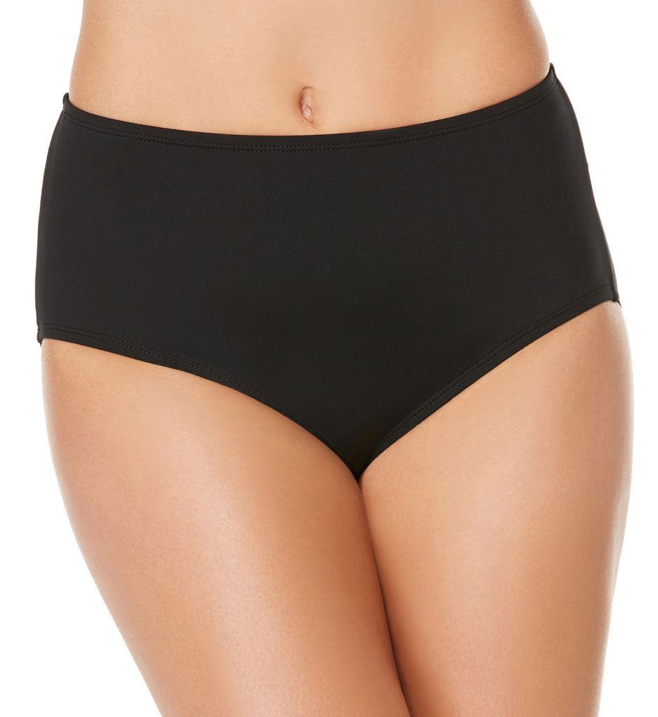 Jantzen Solid Comfort Core Brief Swim Bottom 7016