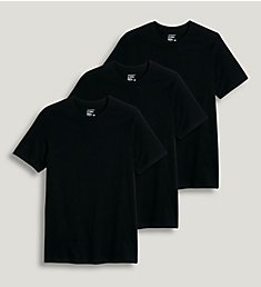 Jockey StayNew 100% Cotton Crew T-Shirts - 3 Pack 9953