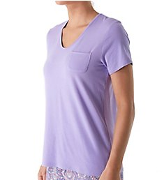 Jockey Sleepwear Bohemian Nights Short Sleeve V-Neck Pajama Top 3361104