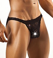 Joe Snyder Lace Low Rise Bikini Brief JSL01