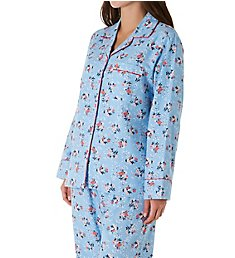 KayAnna Daisy Flannel Pajama Set F15175A
