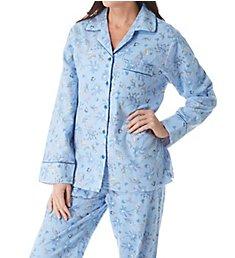 KayAnna Printed Forest Flannel Novelty Pajama Set F15175G