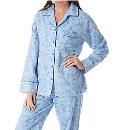 KayAnna Printed Forest Flannel Novelty Pajama Set F15175G