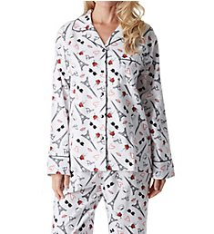 KayAnna Paris Flannel Pajama Set F15175P