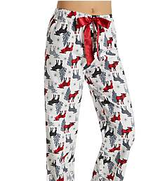 KayAnna Printed Flannel Plaid Pajama Pant F20021W