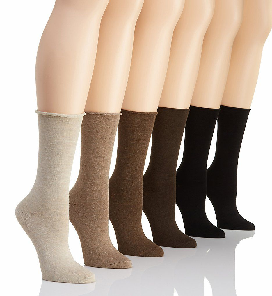 Lauren Ralph Lauren Lauren Roll Top Trouser Sock - 6 Pack 3101