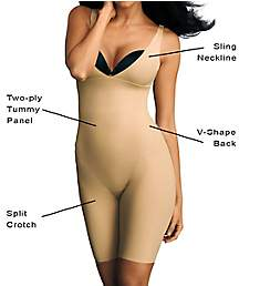Maidenform Wear Your Own Bra Take Inches Off Singlet 2556