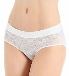 Maidenform Smooth Luxe Wide Waist Hipster Panty 40871