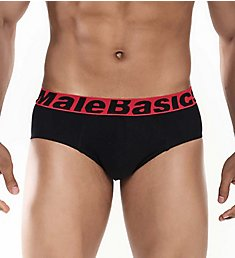 Malebasics Cotton Stretch Briefs - 3 Pack MBT03