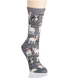MeMoi Novelty Crew Socks MF7