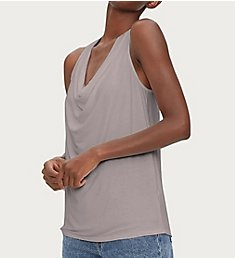 Michael Stars Luxe Jersey Eve Cowl Neck Top 2460