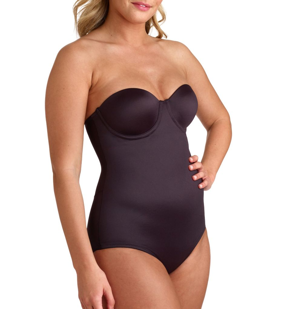 Miraclesuit Shape Away Strapless Bodysuit with Back Magic 2910