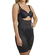 Miraclesuit Shape Away Back Magic Torsette Thigh Slimmer 2912