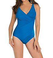 Miraclesuit DD-Cup Solid Oceanus Underwire One Piece Swimsuit 3488DD