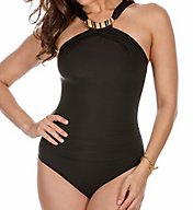 Miraclesuit Solid Bijoux Wireless One Piece Swimsuit 6503083