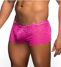 MOB Eroticwear Rose Lace Boy Short MBL01