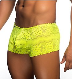 MOB Eroticwear Rose Lace Boy Short MBL01