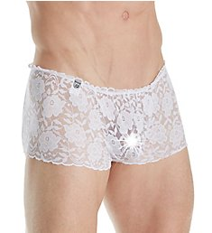 MOB Eroticwear Lace Open Back Sexy Trunk MBL31