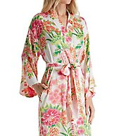 N by Natori Majestic Garden Long Robe C4017