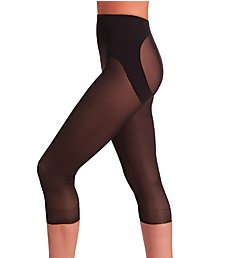 Naomi & Nicole Firm Control Sheer Rear Lifting Capri Pant 747